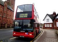 Route 125, Arriva London, DLP68, LJ51DLF, Finchley