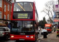 Route 125, Arriva London, DLP108, LF52UPR, Finchley