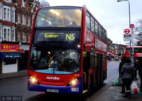 Route N5, Metroline, TE730, LK07AZG, Golders Green