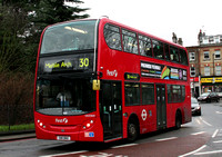 Route 30, First London, DN33624, SN11BNO, Highbury Corner
