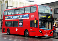 London Bus Routes | Route 281: Hounslow, Bus Station - Tolworth