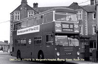 Route 20A, London Transport, DMS2122, KJD122P, Epping