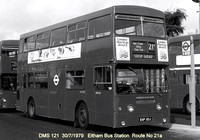 Route 21A, London Transport, DMS121, EGP121J, Eltham