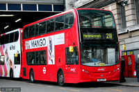 Route 211, Abellio London 9556, SN12APU, Waterloo