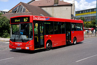Route 167, Docklands Buses, ED26, LX07BYS, Ilford