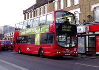 Route 129, East Thames Buses, VWL22, LF52TGZ, Ilford