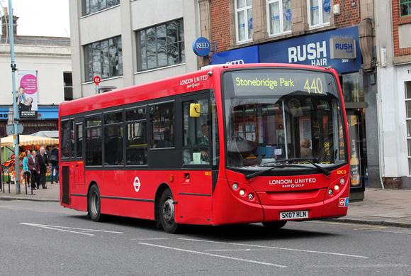 London Bus Routes: Route 440: Chiswick, Power Road - Stonebridge Park &emdash; Route 440,London United RATP, SDE12, SK07HLN, Turnham Green
