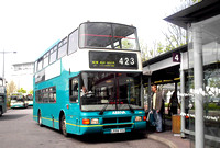 Route 423, Arriva Kent Thameside 5558, L558YCU, Bluewater