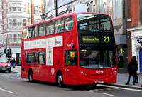 Route 23, First London, DNH39127, SN12ATV, Oxford Street