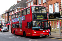 Route 121, Arriva London, DLA140, V640LGC, Enfield