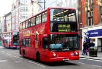 Route 137, Arriva London, DLA331, LG52DCO, Oxford Street