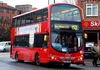 Route 152, Abellio London 9073, LF06YRG, Mitcham