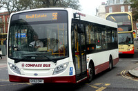 Route 56, Compass Bus, GX62CMY, Brighton