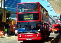Route 473, Stagecoach London 17516, LX51FNU, Stratford