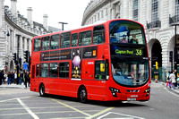 Route 38, Arriva London, DW225, LJ59AEU, Piccadilly Circus