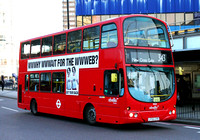 Route 343, Abellio London 9050, LF55CYX, Elephant & Castle
