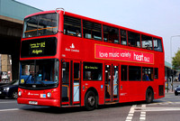 Route 115, East London ELBG 17885, LX03OPT, Canning Town