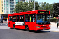 Route 380, Selkent ELBG 34376, LV52HGO, Woolwich