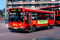 Route P12, London Central, DRL83, K583MGT, Peckham
