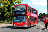 Route 267, London United RATP, SLE16, YN55NHK, Fulwell