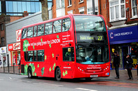 Route 27, London United RATP, ADH2, SN58EOS, Turnham Green
