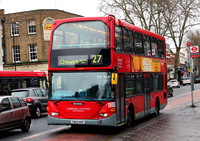 Route 27, London United RATP, SLE45, YN55NKP, Turnham Green