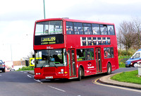 Route 129, East Thames Buses 361, R361DJN, Ilford