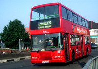 Route 129, East Thames Buses 343, P343ROO, Gants Hill
