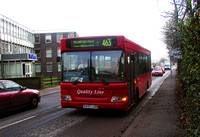 Route 463, Quality Line 457, S457LGN, Beddington Lane