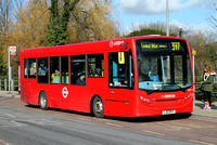 Route 397, Arriva London, ENS15, LJ12BYY, Loughton