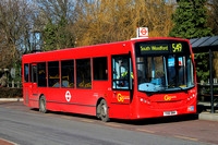 Route 549, Go Ahead London, SE132, YX61BWH, Loughton