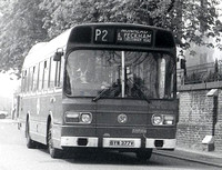 Route P2, London Transport, LS377, BYW377V, St Georges Way