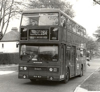 Route 284, London Transport, T1119, B119WUV, Poverest Rd
