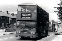 Route 199: Trafalgar Square - Bromley Common, Bus Garage