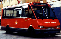 Route 115, South London Buses, MR36, E136KYW