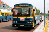 Route 361, Metrobus, D21CTR, Bromley