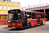 Route 295, First London, DML255, S255JLP, Clapham Junction