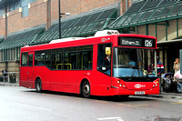 Route 126, Metrobus 718 AE09DHU, Bromley
