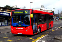 Route 61, Stagecoach London 36547, LX12DJV, Bromley