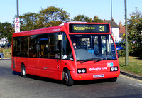 Route S1, Quality Line, OP06, YE52FHN, Mitcham