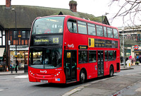 Route E3, First London, DN33579, SN09CDZ, Turnham Green
