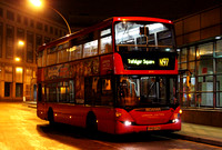 Route N97, London United RATP, SP119, YR59FZA, Hammersmith