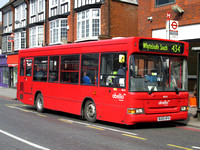 Route 434, Abellio London 8026, BU05HFA, Purley
