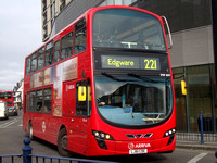 Route 221, Arriva London, DW469, LJ61CDE, North Finchley