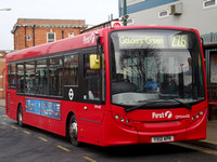 Route 226, First London, DMV44312, YX12APK, Golders Green
