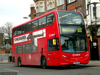 Route 102, Arriva London, T264, LJ61LJK, Golders Green