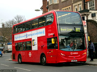 Route 102, Arriva London, T278, LJ61LHY, Golders Green