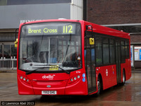 Route 112, Abellio London 8792, YX12GHG, Brent Cross