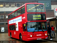 Route 189, Metroline, TA640, LK05GFX, Brent Cross