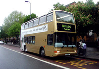 Route 345, London General, PVL257, PL51LDY, Stockwell
